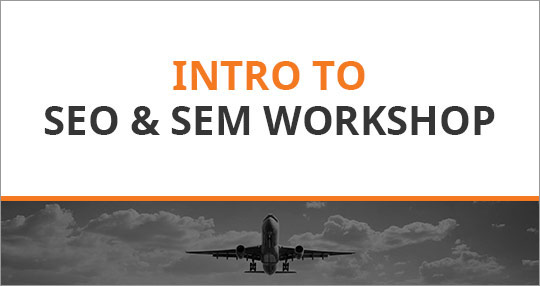 Intro to Google, SEM & SEO Workshop (Perth)