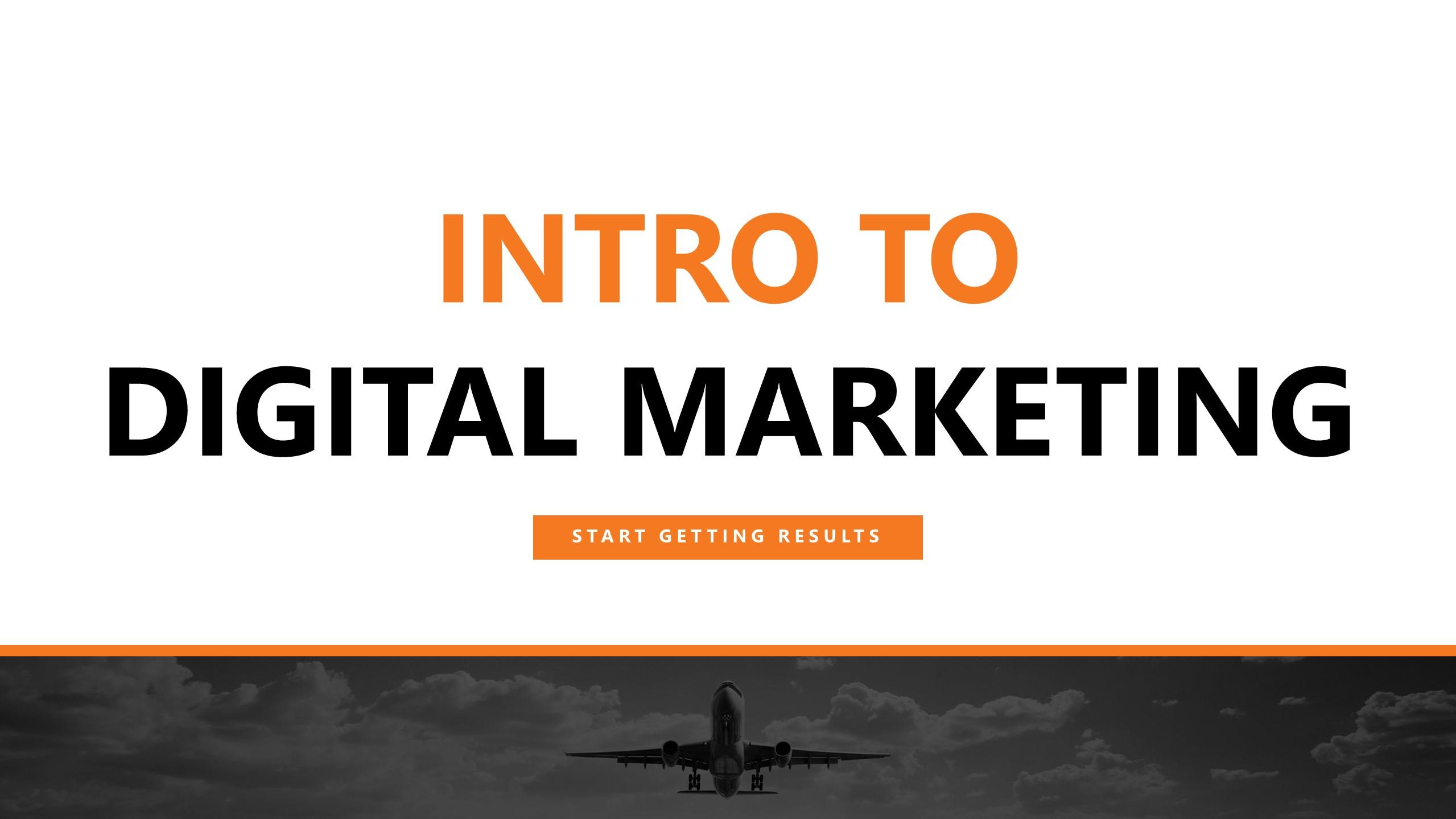 Intro to Digital Marketing Workshop (Perth)